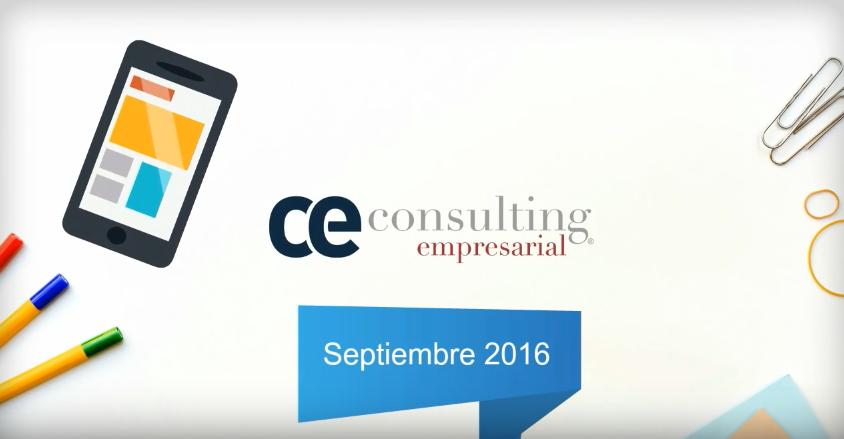 Asesor Informa Septiembre 2016 CE Consulting Empresarial